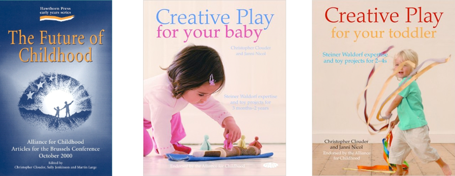 The Future of Childhood, Creative Play for your Baby, Creative Play for your Toddler Covers